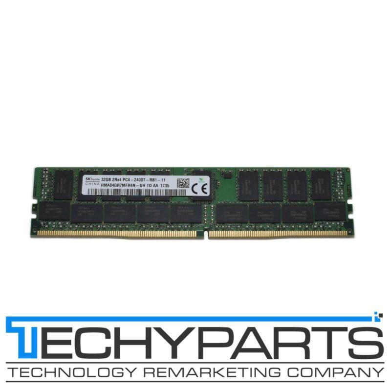 SK Hynix 32GB 2Rx4 DDR4-2400 PC4-2400T REG ECC 1.2V 288p RDIMM HMA84GR7MFR4N-UH