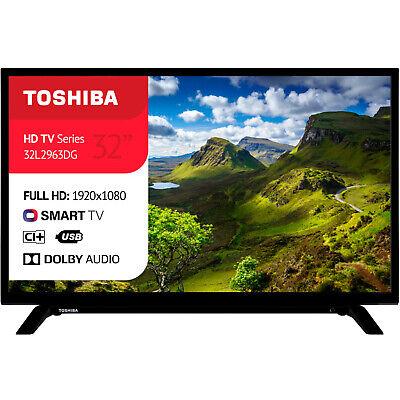 """SMART TV LED TOSHIBA LED 32"""" POLLICI FULL HD 1080p INTERNET TV WI-FI DVB-T2"""
