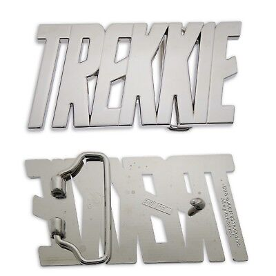 Star Trek Trekkie Initial Belt Buckle American Science Fiction Halloween Costume