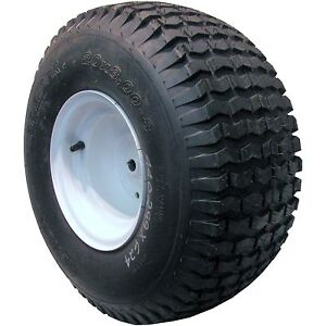 20x8 00 8 Lawn Mower Tractor Tire Wheel Assembly Go Kart
