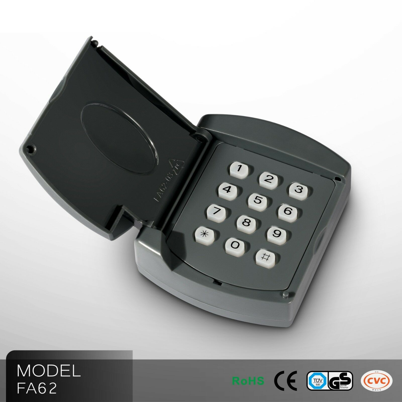 Foresee Keypad Wireless password lock access control accessories for gate opener