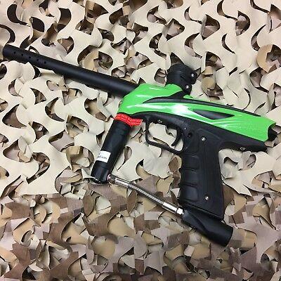 Used  Gog Enmey  68 Caliber Mechanical Paintball Gun Marker   Freak Green