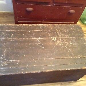 Large  Antique box