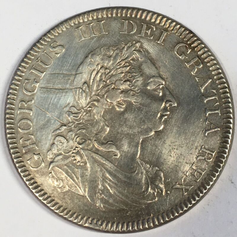 1804 Great Britain Dollar - Silver - Full Detail - High Quality Scans #C980