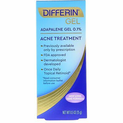 Adapalene Gel 0.1 %, Acne Treatment, 0.5 oz (15 g)