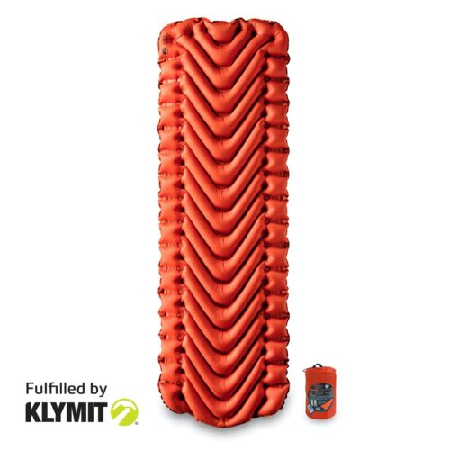 Klymit Insulated Static V Lightweight Sleeping Camping Pad - Refurbished