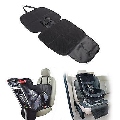 Autositzauflage Unterlage Kindersitz Spielzeugtasche Auto Sitzschutz schwarz