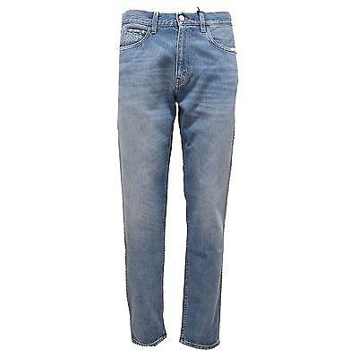 5a13d8bbbd Details about 2215S jeans uomo GUCCI SLIM blu denim vintage pantalone pant  trouser jeans men
