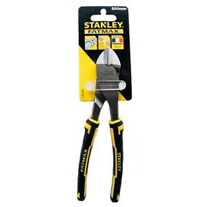 Stanley FatMax Angled Diagonal Cutting Plier 200mm Side Cutters Nippers 0-89-861