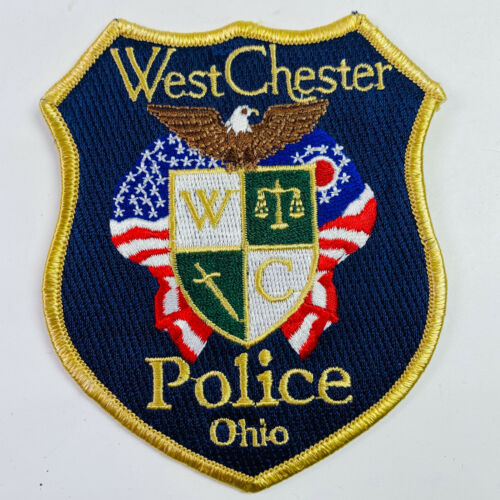 West Chester Township Police Butler County Ohio OH Patch (B5-B)