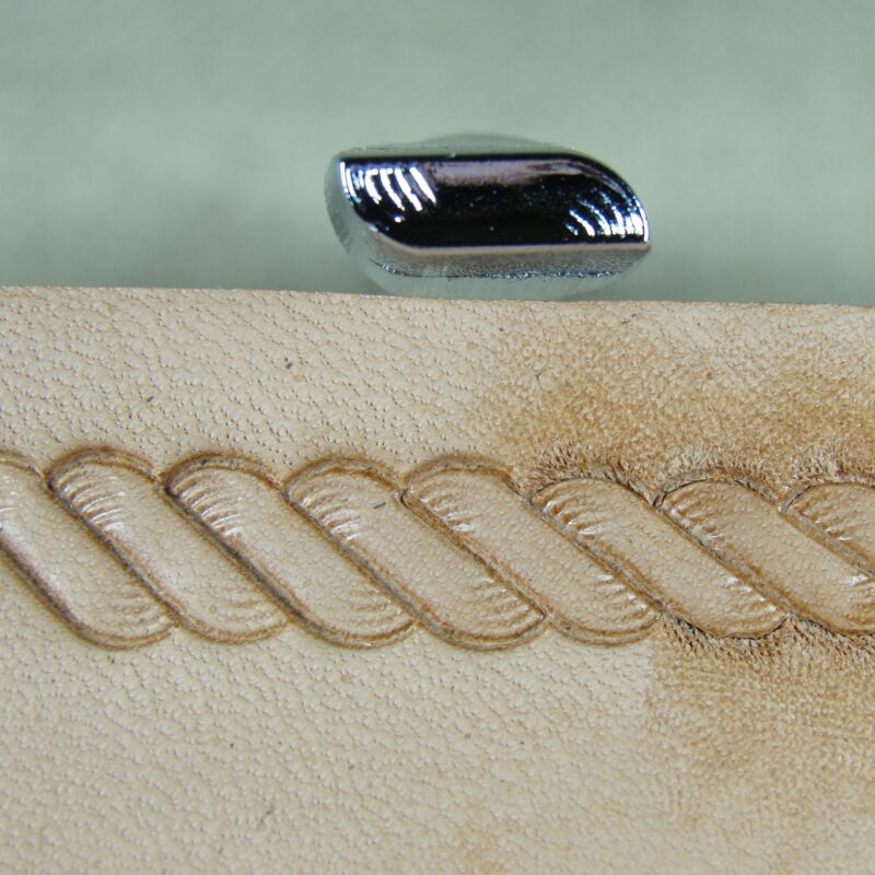 Japan Select - #R956 Rope Border Stamp (Leather Stamping Tool)