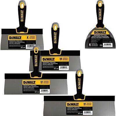 Dewalt Taping Knife Set Premium Stainless Steel 8-10-12-14 6 Putty Knife