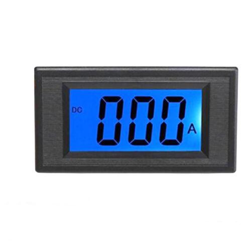 US Stock Blue LCD Digital AMP Current Panel Meter Ammeter DC 500A & Shunt