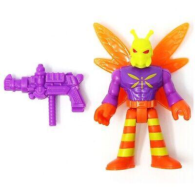 Killer Moth Imaginext DC Super Friends Series 7 New in Sealed Foil Pack - K Moth
