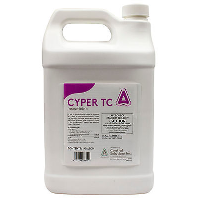 Cyper TC  Insecticide Control Solutions Cyper TC 1 Gallon - NOT FOR SALE TO: NY