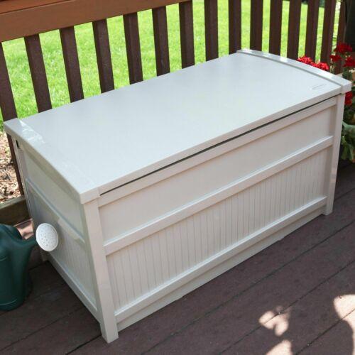 storage deck box outdoor container bin chest