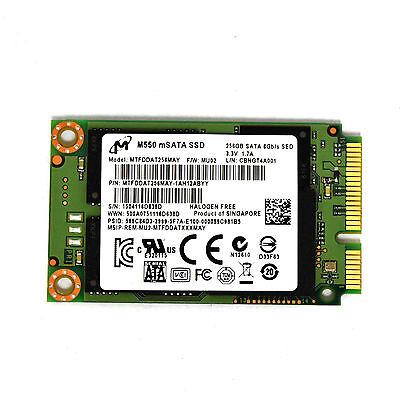 Встроенный жесткий диск Micron M550 MTFDDAT256MAY