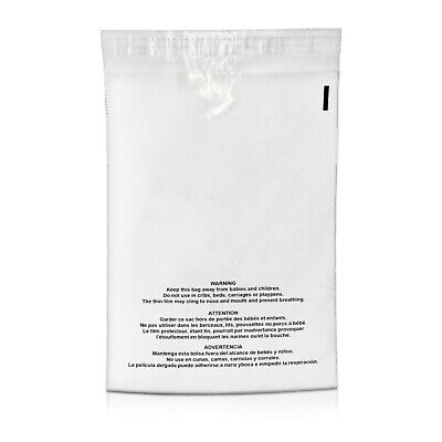 250 19x24 Premium Suffocation Warning Clear Plastic Self Seal Poly Bags 1.5 Mil