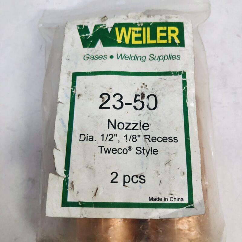 "WEILER 23-50 NOZZLE DIA. 1/2"", 1/8"" RECESS TWECO® STYLE GASES, WELDING SUPPLIES"