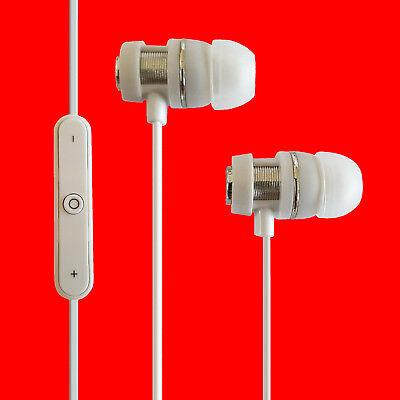 Bluetooth In Ear Kopfhörer Wireless Headset Waterproof Bass Beats Weiss DQ123 ()