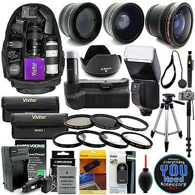 Nikon D3300 D3200 D3100 DSLR Camera Everything You Need Accessory Kit Pro