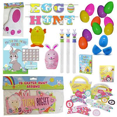 Easter Egg Hunt Accessories Games Crafts - Choose Design