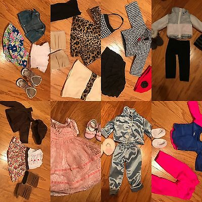 "18"" Doll Outfit Lot (8 Outfits)- Perfect Condition (Can Fit American Girl Dolls)"