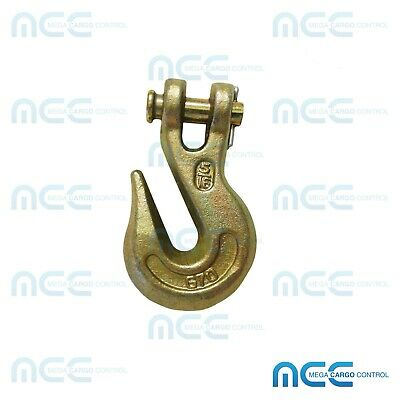 G70 Heavy Duty Clevis Grab Hook Tow Chain Hook Flatbed Truck Trailer Tie Down