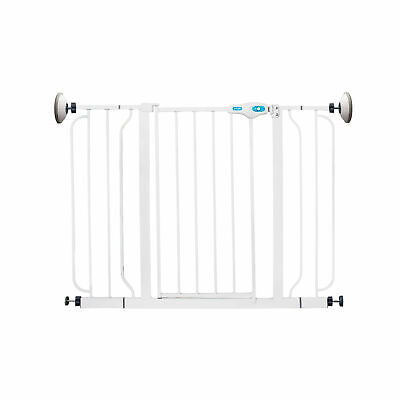 Regalo Extra Wide Span 56 In Walk Through Baby Gate with Wall Mounts (Open Box)