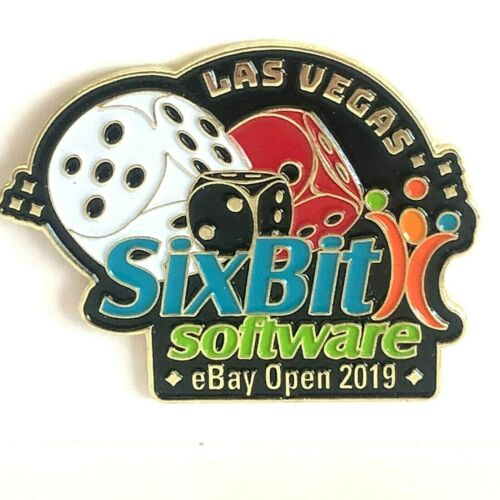 Las Vegas SixBit Software eBay Open 2018 Pin Lapel