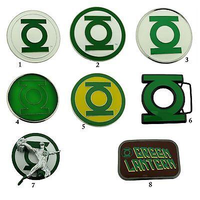 Green Lantern Gürtelschnalle USA Amerikanisch Superhelden Comics Kostüm - Green Lantern Comic Kostüm
