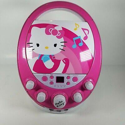 Hello Kitty Disco Party CDG Karaoke Machine Model 66209-WM CD Player Hello Kitty Karaoke
