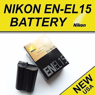 NEW EN-EL15 Battery for Nikon D600 D610 D750 D7100 D7200 D800 D810 V1
