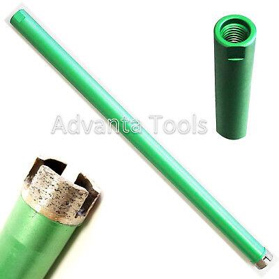 1 Wet Diamond Core Drill Bit For Concrete W 58-11 Threads - Premium Green