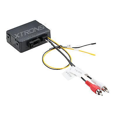 LWL Lichtleiter Interface Adapter Audio RCA für Mercedes Benz E CL CLS S SL SLK