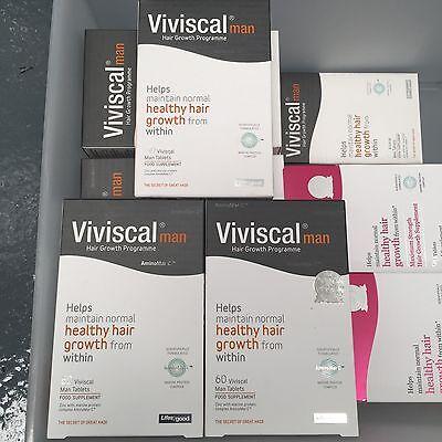 Viviscal MAN Hair Growth Programme - 180 Maximum Strength Tablets Exp 2018/19