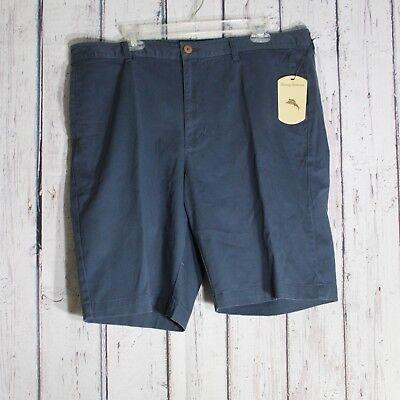 Tommy Bahama Sports Flat Front Mens Shorts Echo Blue Multiple Sizes NWT Golf