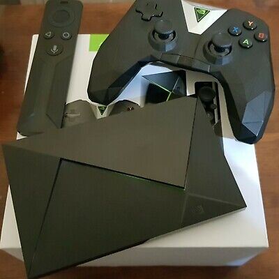 Nvidia Shield TV Android Media Streamer▪︎16gb 4k UHD▪︎Remote & Game Controller for sale  Shipping to Nigeria