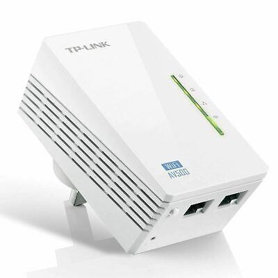 TP-LINK TL-WPA4220 AV600 Powerline 300M Wi-Fi Extender/Wi-Fi Booster/Hotspot wit