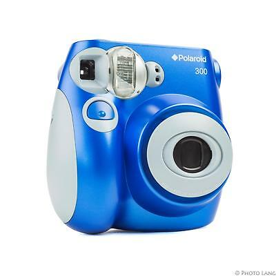 Polaroid 300 Instant Sofortbildkamera Blau Instax Mini Format (Kamera Polaroid 300)