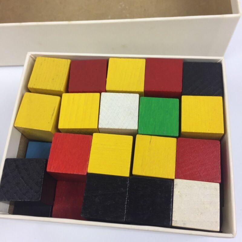 Vtg Teacher Materials Attribute Games Problems 60s Mid Century Elementary School
