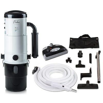 - Prolux CV12000 Central Vacuum Unit System with Electric Hose Power Nozzle Kit