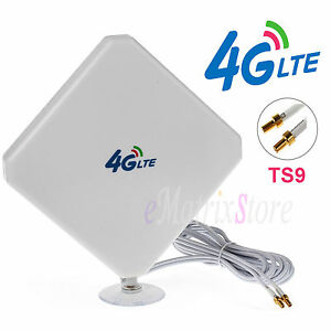 35dBi 4G/3G LTE TS9 Broadband Antenna Signal Amplifier For HUAWEI Vodafone ZTE