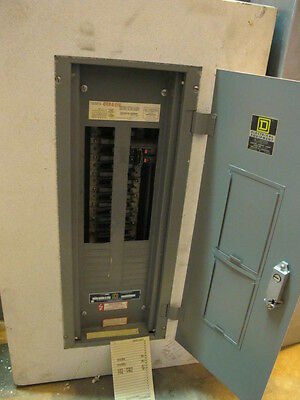 Square D 225 Amp Main Lug 120240 Volt 1 Panelboard- E247