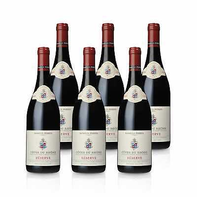 Côtes du Rhône Réserve Rouge 2018 - Perrin - Französicher Rotwein (6x0,75l)