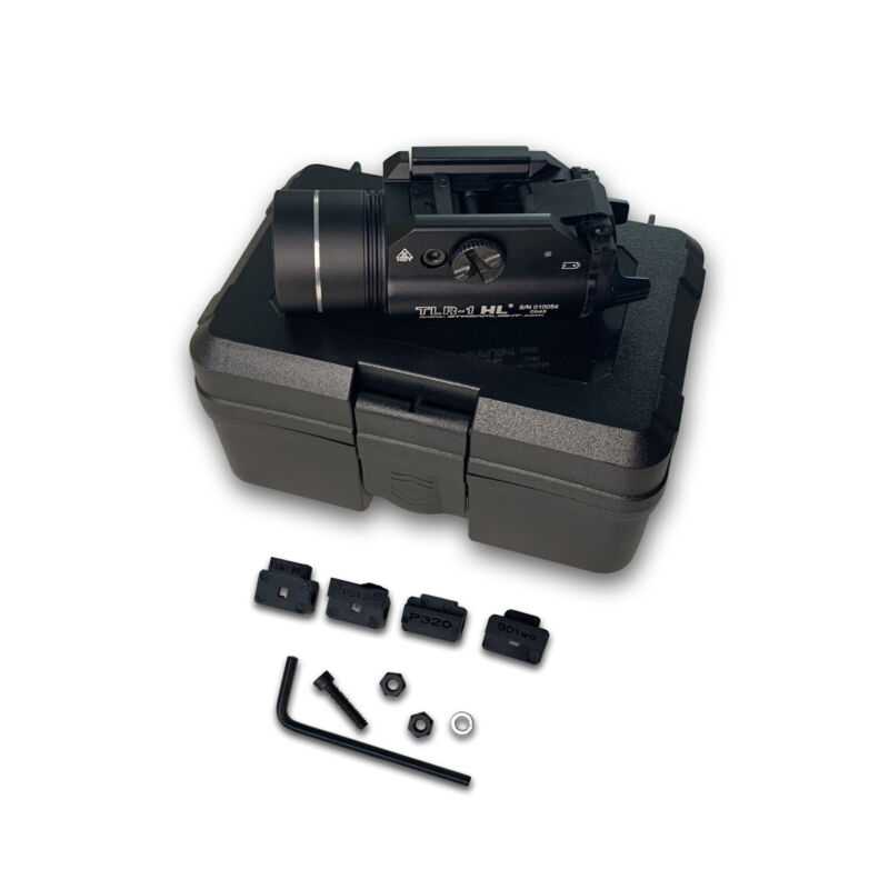 69260 Stream light TLR-1 HL Weapon Mount Tactical Flashlight Light LED 1000 LM