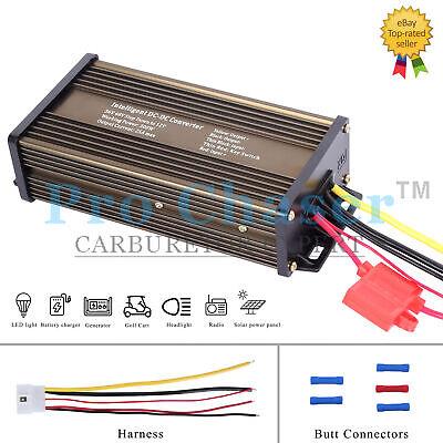 Pro Chaser Dc-dc 36v 48v Voltage Converter Regulator Reducer To 12v 300w 25a