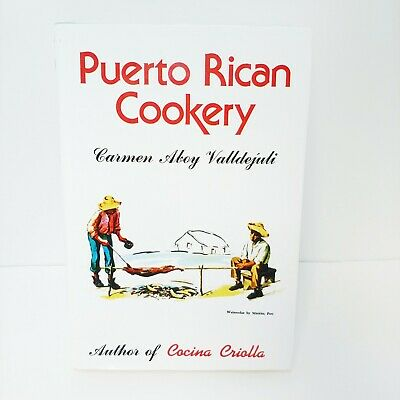 Puerto Rican Cookery by Carmen Valldejuli: Hardback Book 2018 New