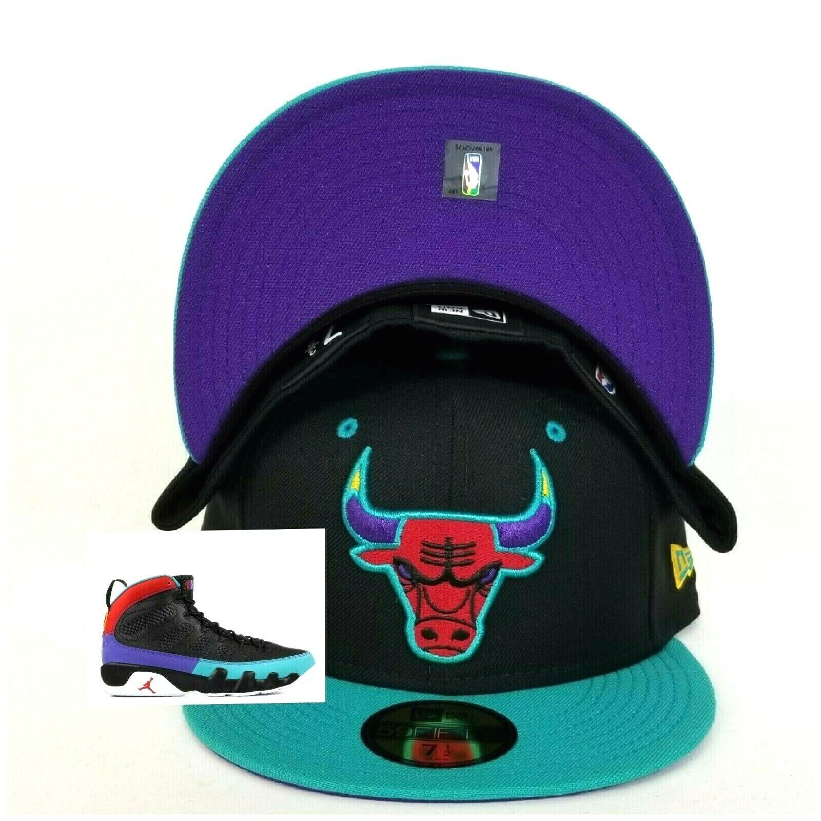 7486739d623 Chicago Bulls New Era Fitted hat Jordan 9 Dream it Do it   eBay