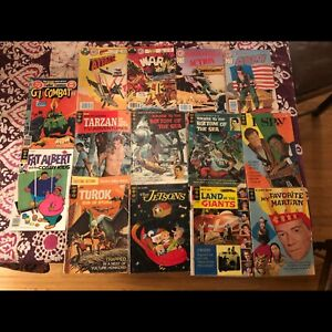 60s tv comics and others